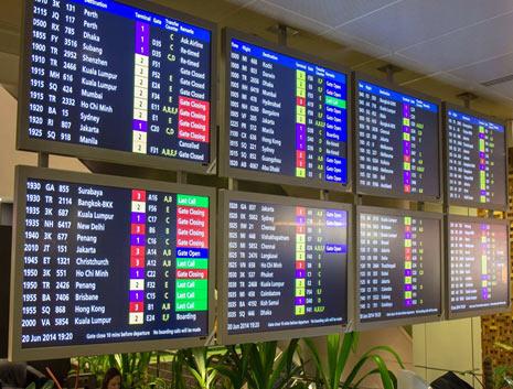 Flight-Information-Display-System-board