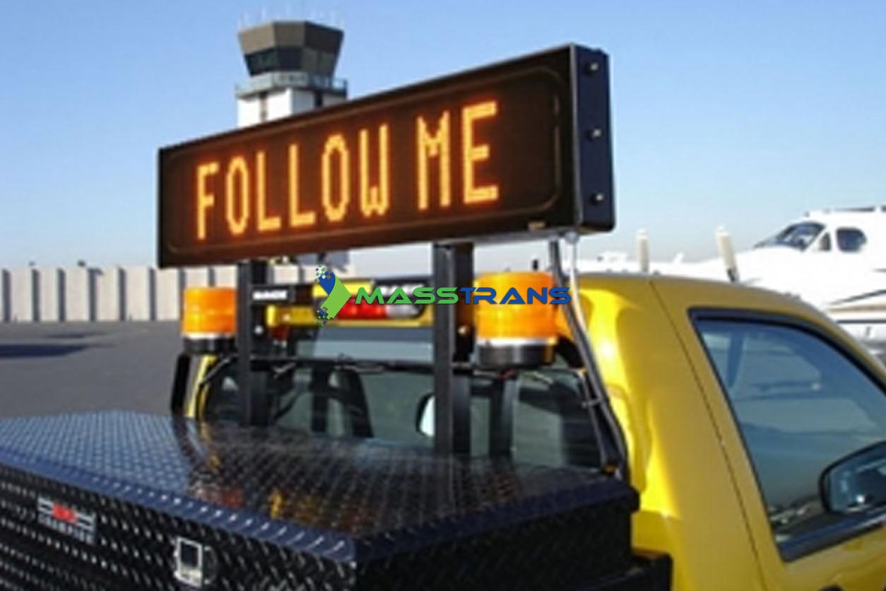 Follow-me Led signs