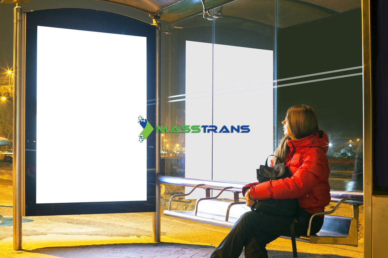 Smart Bus Stop Signage